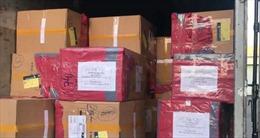 Thu giữ hơn 150.000 khẩu trang không rõ xuất xứ