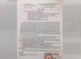Bộ Công an xin lỗi công khai 2 doanh nhân bị bắt giam trái pháp luật