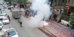Xử lý nghiêm hành vi đốt pháo nổ