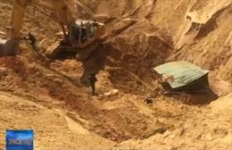 Sụp hố khai thác titan tại Bình Thuận, 1 công nhân thiệt mạng