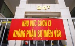 Hà Nội phong tỏa tòa nhà 34T Hoàng Đạo Thúy