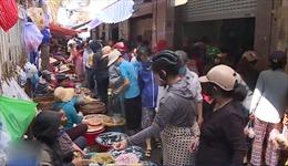 Còn chủ quan trong phòng dịch tại chợ truyền thống
