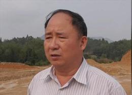 Bắt tạm giam Phó Giám đốc Sở Tài nguyên và Môi trường tỉnh Lạng Sơn