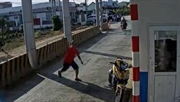 Điều tra các đối tượng ném bom xăng tại Khánh Hòa