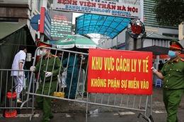 Chính thức dỡ cách ly Bệnh viện Thận Hà Nội