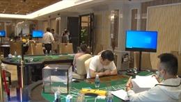 Phá ổ cờ bạc do người nước ngoài điều hành