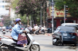 Thời tiết ngày 6/5: Nắng nóng gia tăng ở Bắc Bộ và Trung Bộ, có nơi trên 41 độ C