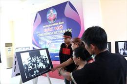 Cộng đồng các dân tộc tại 'Ngôi nhà chung' kể chuyện về Bác Hồ