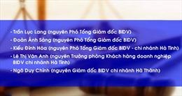 Truy tố 12 bị can trong 'vụ án nghìn tỷ' tại Ngân hàng BIDV