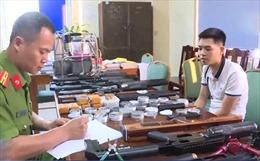 Bắt đối tượng chế tạo súng săn rao bán trên mạng