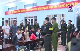 Đắk Lắk truy bắt hơn 50 đối tượng đánh nhau trong đêm