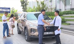 Giảm lệ phí trước bạ, người mua ô tô tăng
