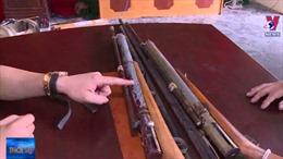 Thanh Hóa bắt giữ đối tượng chuyên chế tạo súng
