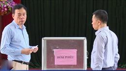 Kết luận vụ gian lận phiếu bầu Đại hội Đảng bộ xã Chu Phan