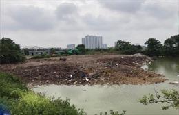 Huyện Thanh Trì xảy ra nhiều vụ vi phạm đất đai trước khi lên quận