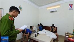 Công an Hà Tĩnh bắt giữ nhiều đối tượng sử dụng ma túy trong khách sạn