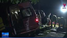 Tai nạn giao thông nghiêm trọng tại Bình Thuận làm 8 nạn nhân tử vong