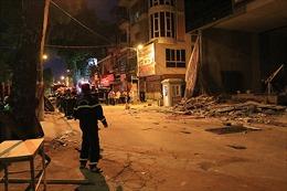 Hà Nội: Gãy giàn giáo khiến 3 người chết tại chỗ