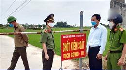 Thái Bình phong tỏa thôn có người dương tính với virus Sar-CoV-2