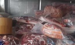 Phát hiện hơn 19 tấn thịt quá hạn sử dụng