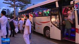 Các đoàn y bác sĩ lên đường đến Đà Nẵng hỗ trợ chống dịch