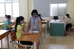 Hà Nội: 7 thí sinh thi tốt nghiệp THPT đợt 2 tập trung nghe phổ biến quy chế thi