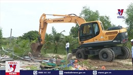 Cưỡng chế công trình xây dựng trái phép trên đất công
