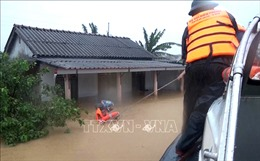 Thời tiết ngày 11/10: Bão số 6 gây biển động rất mạnh, mưa lũ Trung Bộ diễn biến phức tạp