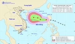 Thời tiết ngày 21/10: Bão Saudel có khả năng mạnh thêm, biển động rất mạnh