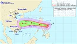 Siêu bão Goni tiến vào Philippines với sức gió giật trên cấp 17