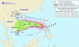 Sáng 2/11, siêu bão Goni đi vào Biển Đông với sức gió giật cấp 13