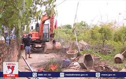 Hà Nội cưỡng chế giải tỏa mặt bằng quận Long Biên