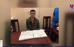 Nghệ An bắt giữ vụ vận chuyển 12 bánh heroin
