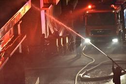 Hà Nội: Cháy lớn tại công ty dược phẩm Hà Tây trong đêm