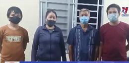 An Giang phát hiện 4 người nhập cảnh trái phép