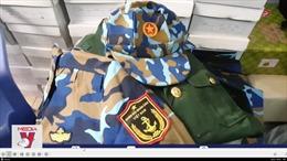 Phát hiện cơ sở kinh doanh quân phục trái phép