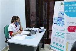 Lo ngại dịch COVID-19, nhiều người đăng ký tiêm thử nghiệm vaccine COVIVAC online