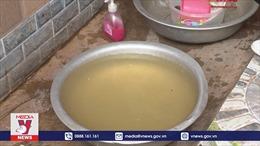 Hàng trăm hộ dân Tuyên Quang thiếu nước sinh hoạt