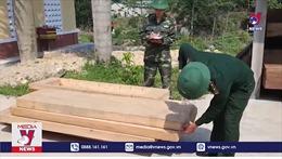 Thừa Thiên – Huế bắt 2 vụ vận chuyển gỗ trái phép