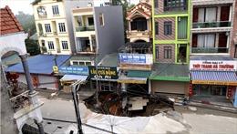 """'Hố tử thần"""" ở xã Quảng Bị có phải do tình trạng khoan giếng tự phát tại địa phương?"""