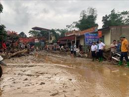Bắc Bộ và Bắc Trung Bộ có mưa và dông, nguy cơ xảy ra lũ quét, sạt lở đất ở các tỉnh miền núi