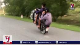 Hà Tĩnh triệu tập 30 thanh thiếu niên đua xe trái phép