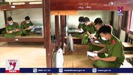 Tuyên truyền bầu cử cho sinh viên đảm bảo phòng dịch