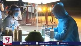 Lá chắn thép phòng dịch ở Bắc Ninh