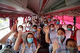 300 sinh viên trường Cao đẳng Y tế Bạch Mai hỗ trợ chống dịch COVID-19 tại Bắc Giang