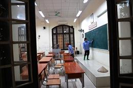 Các trường THPT chuẩn bị cho kỳ thi tuyển sinh lớp 10