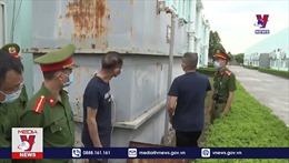 Bắt quả tang Công ty TNHH Fabi Secret Việt Nam xả thải ra môi trường chưa qua xử lý