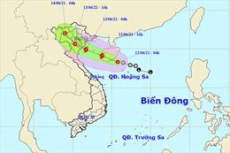 Áp thấp nhiệt đới có thể mạnh lên thành bão, Bắc Bộ và Trung Bộ có nơi mưa to