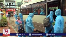 Bắc Giang phối hợp đưa hơn 30.000 công nhân về quê