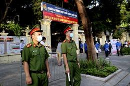 Công an Hà Nội đảm bảo an ninh trật tự cho kỳ thi tốt nghiệp THPT năm 2021